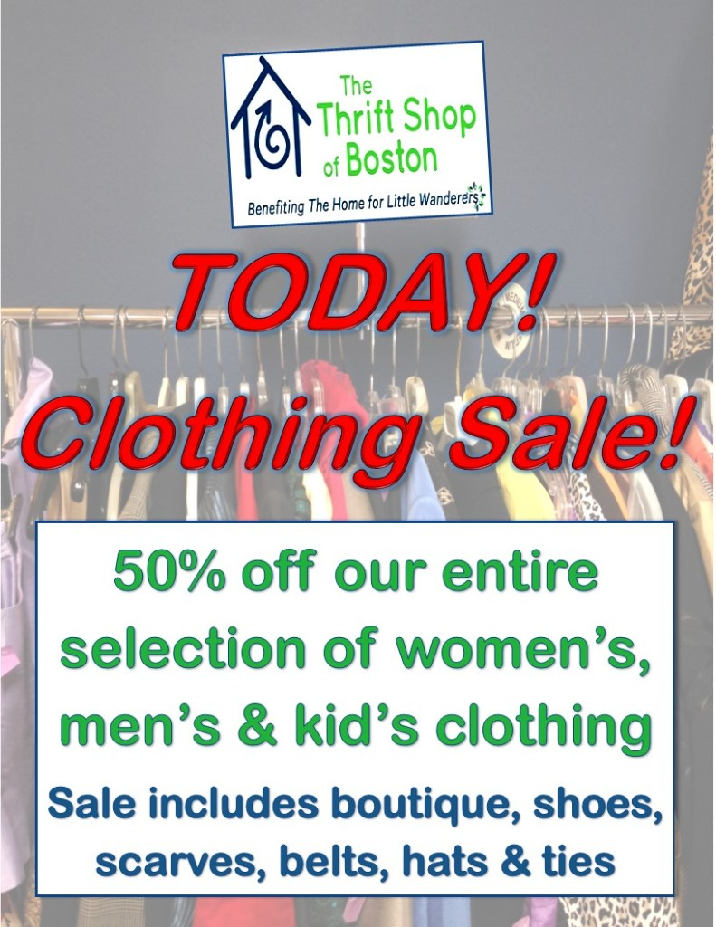 clothing sale 3 march2